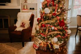 Christmas Tree Decorating Ideas Southern by Family Room Decor Reveal With Overstock A Southern Drawl