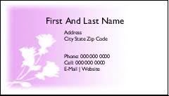 Avery Laser Business Cards Avery 55871 Clean Edge Business Cards 2