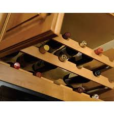 wine racks solid wood wine bottle racks in 4 different woods by