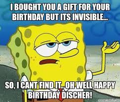 Birthday Gift Meme - birthday gift