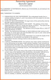 7 restaurant partnership agreement template purchase agreement