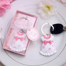 bridal shower gift ideas for guests baby shower favor gift and giveaways for guests baby keychain
