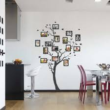 Full Wall Stickers For Bedrooms Photo Wall Collage Without Frames 17 Layout Ideas