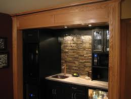 Rock Backsplash Kitchen by Faux Stone Backsplash With Vinyl Tiles Home Design Ideas Faux