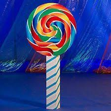 Candy Themed Party Decorations Lollipop Prop Ebay
