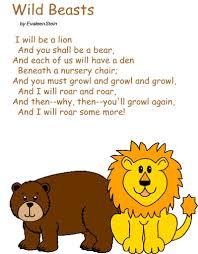 poem wild beasts evaleen stein
