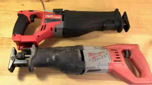 amazon milwaukee m18 black friday deals milwaukee brushless fuel sawzall vs milwaukee corded sawzall youtube