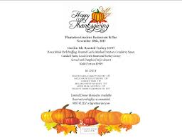 thanksgiving thanksgiving menu picture inspirations