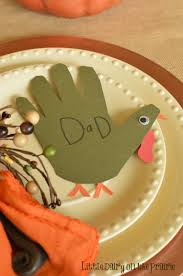 thanksgiving turkey name place cards dairy on the prairie
