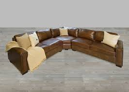 Cuddler Chaise Furniture Best Design Of Brown Leather Sectional For Modern