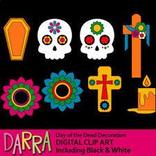 dia de los muertos decorations day of the dead clipart dia de los muertos decoration clip