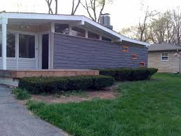 mid century modern exterior house paint colors decor images with