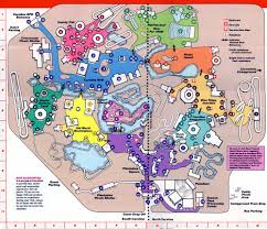 Six Flags Chicago Map by Carowinds 1989 Theme Park Maps Pinterest Theme Park Map