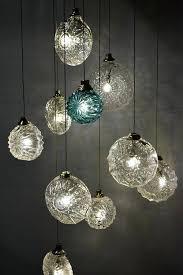 Blown Glass Chandeliers Blown Glass Pendant Lighting Large Contemporary Glass Pendant