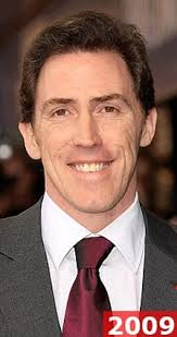 rob brydon hair hey what s so funny about my hair comic brydon shows off his