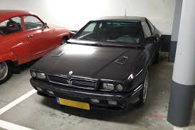 maserati shamal in het wild maserati shamal 1993 autonieuws autoweek nl