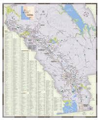 Napa Valley Winery Map Napa Valley Regional Map