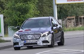 mercedes amg c63 wagon 2018 mercedes amg c63 wagon spied for the looks nearly