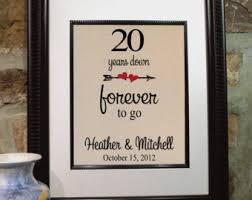 20th anniversary gift 20th anniversary etsy