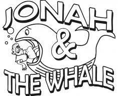 jonah coloring pages jonah whale jonah prophet popular