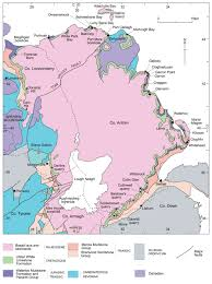 Pollen Map Cretaceous Palaeogene K T Boundary Northern Ireland Earthwise