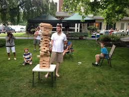 giant jenga for outdoor parties u2013 redeemed creative