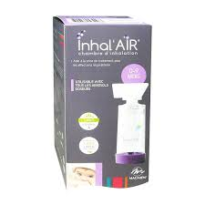 chambre d inhalation exacto inhal air chambre d inhalation 0 9 mois pas cher