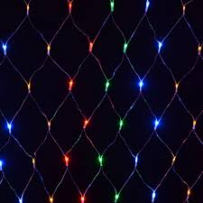 180 bulb multi multi coloured net light indoor outdoor