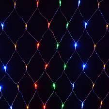 led net lights multi color 180 bulb multi action multi coloured net light indoor outdoor use