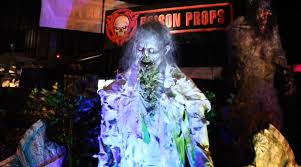 my spirit halloween props poison props animatronics at transworld halloween show 2015 youtube