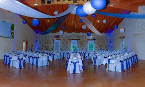 deco salle mariage deco salle mariage bleu et blanc le mariage