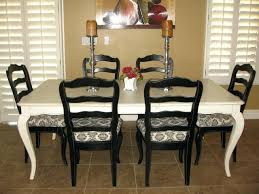 Black And White Upholstered Chair Design Ideas Damask Dining Room Chairs Jcemeralds Co