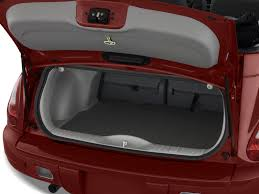 image 2008 chrysler pt cruiser 2 door convertible trunk size