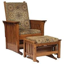 ottoman mission style chair and ottoman tribecca home hills