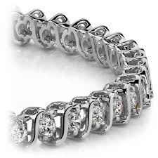 fashion diamond bracelet images S link diamond bracelet in white gold jpg