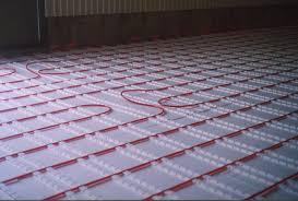 radiant floor heating basement cost radiant floor heating for