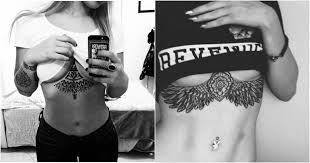 65 sizzling under breast tattoos you u0027ll drool over ritely