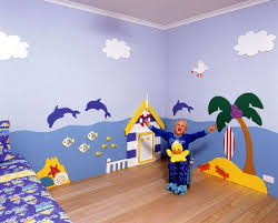 Ideas About Kids Bedroom Pleasing Childrens Bedroom Wall - Kids bedroom wall designs