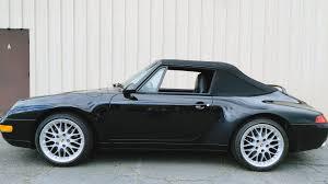 porsche 911 convertible black 1998 porsche 911 carrera convertible t137 monterey 2016