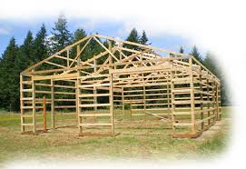 How To Pole Building Construction by Pole Barns Oregon Pole Buildings Washington Construction Permits