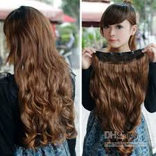 cheap clip in hair extensions synthetic hair lace clip in hair extensions chestnut
