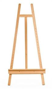 lyre easel adjustable wooden canvas for artists studios
