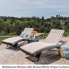 Wicker Chaise Lounge Outdoor Chaise Lounges U2013 Noble House Furniture
