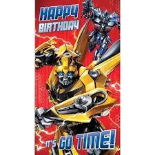 transformers birthday transformers the last happy birthday card danilo