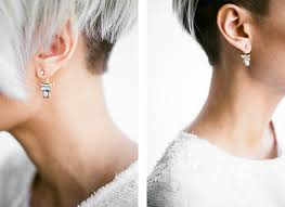 front to back earrings trends to try front back earring the chriselle factor front and