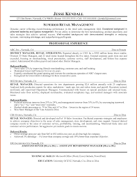 Best Resume Retail Store Manager by Sales And Merchandising Resume