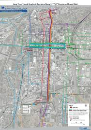 New Orleans Convention Center Map by Ridekc Bridj Pilot Transit Initiatives Kcata