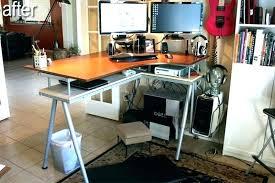 best corner desk for 3 monitors galant corner desk computer desk standing desk stand up desk and