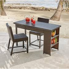 patio bar height dining set stunning bar height dining sets outdoor bar furniture the home
