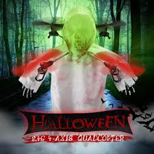 1031 halloween skull rc drone 2 4g 4ch 6 axis gyro headless mode